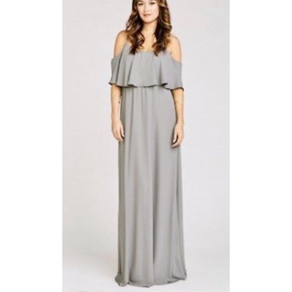 6fdbf810c17 Caitlin ruffle maxi dress-charcoal